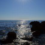 Утренние лучи над морем