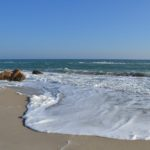 Пенная волна на берегу