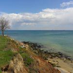 Склоны и камни у моря. Окрестности посёлка Фонтанка.