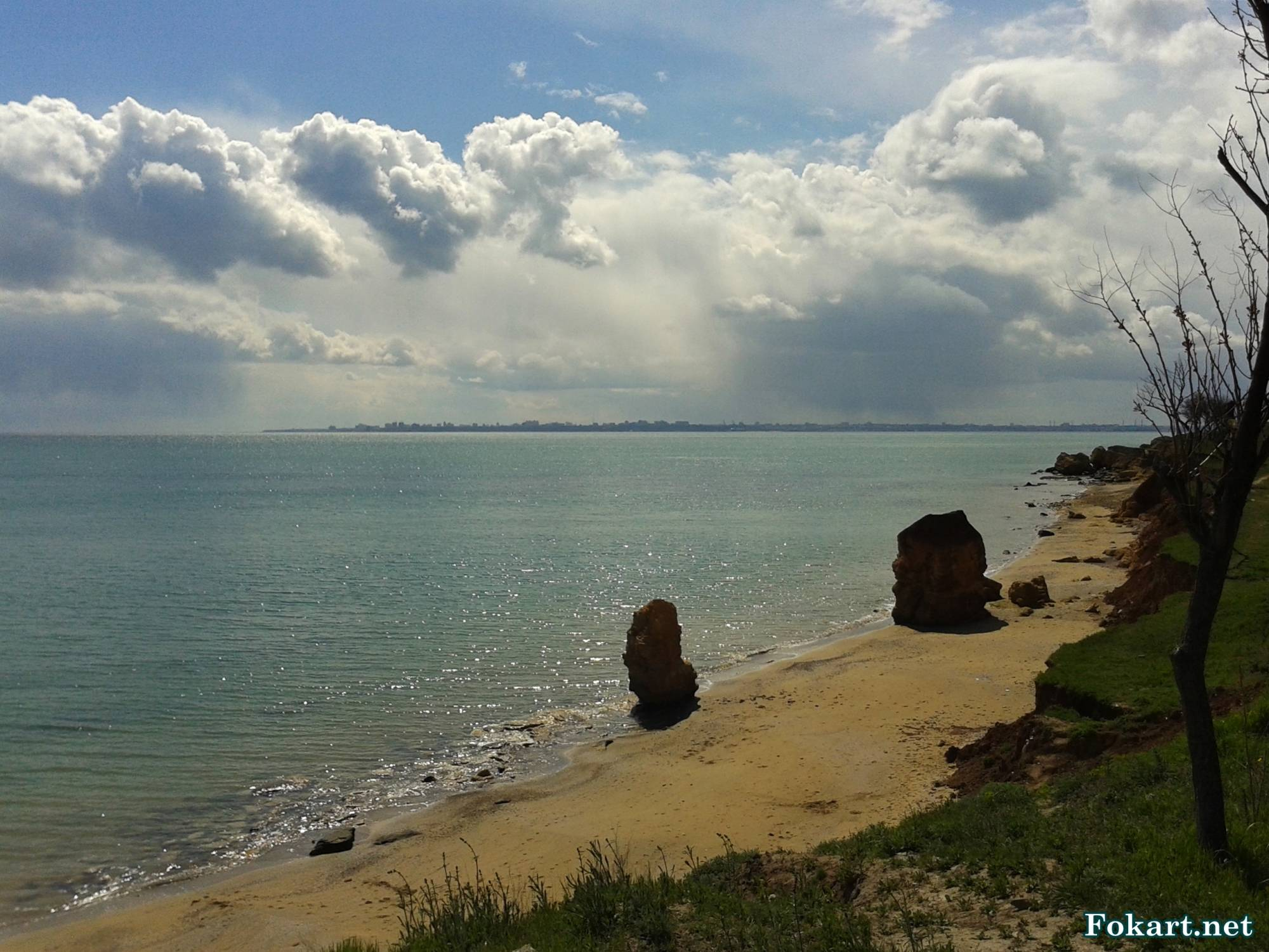 Вид с берега в окрестностях Фонтанки
