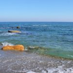 Прозрачное море в тёплом феврале