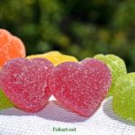 Мармеладные сердечки и другие яркие мармеладки