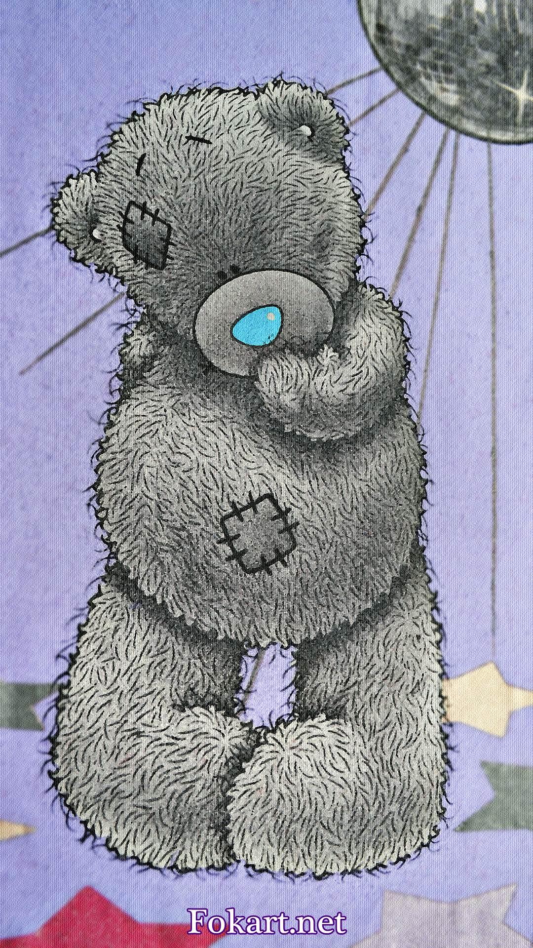 Мишка Тедди задумался, какую из упавших звёздочек выбрать