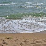 Волна у берега, Чёрное море